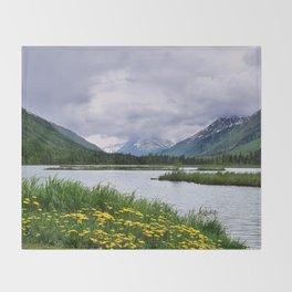 God's Country - III Throw Blanket