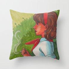Firefox Throw Pillow