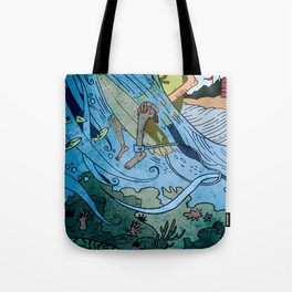 The Contest Tote Bag