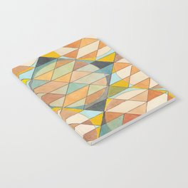 Triangles and Circles Pattern no.23 Notebook