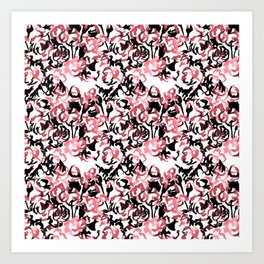 Floral Wash Pattern Art Print