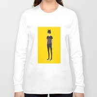 tegan and sara Long Sleeve T-shirts featuring Tegan and Sara: Bategan by Cas.