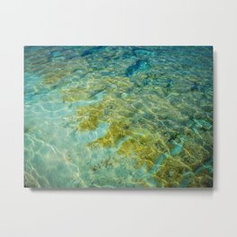 Bahamas Water Metal Print