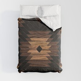 Urban Tribal Pattern No.7 - Aztec - Wood Comforters
