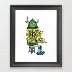 Read a Zine Framed Art Print