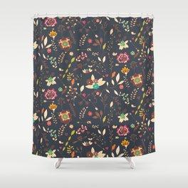 Flower pattern 02 Shower Curtain