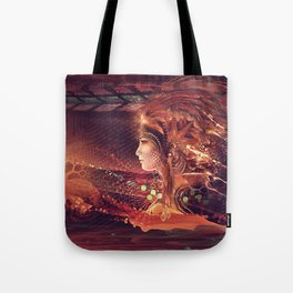 Shadow of a Thousand Lives - Visionary - Manafold Art Tote Bag