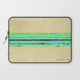 Modern Movement 001 - Signed - Abstract Landscape Canvas Art - Comforters - Bedding - Metal Prints Laptop Sleeve
