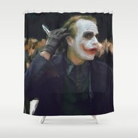 hello beautiful Shower Curtains featuring Hello Beautiful by  Maʁϟ