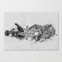 FUML Canvas Print