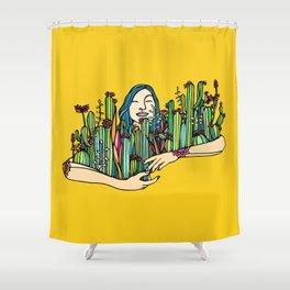 Hug a Xique Xique Shower Curtain