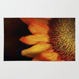 Flaming Sunflower Rug