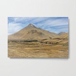 Highland Vale Metal Print