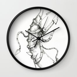 Man-Made Disaster: CLASSIFIED Wall Clock