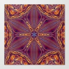 Sequential Baseline Mandala 12l Canvas Print