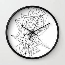 Geometric on the N Wall Clock