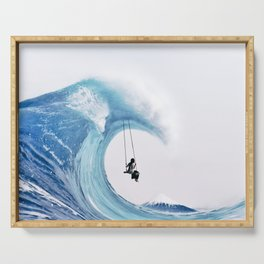 The Great Wave Serving Tray