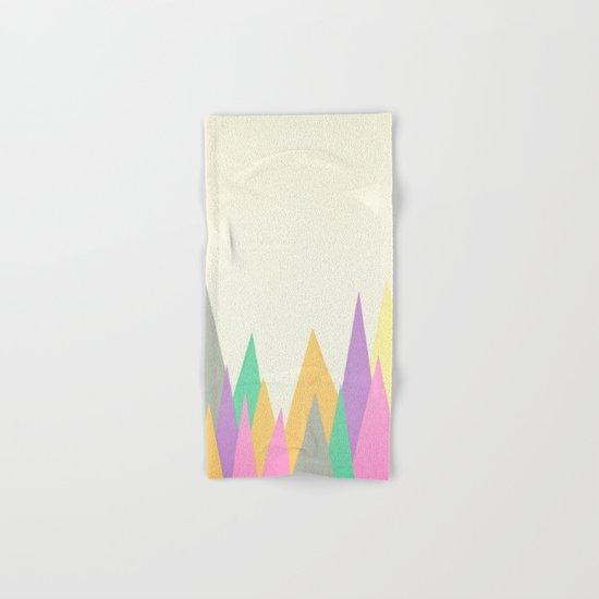 Pastel Peaks Hand & Bath Towel
