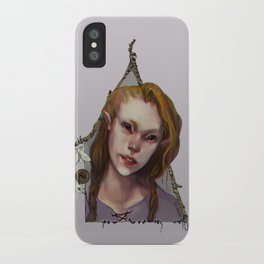Hedge Witch 1 iPhone Case