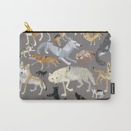 Wolves of the world (c) 2017 Carry-All Pouch