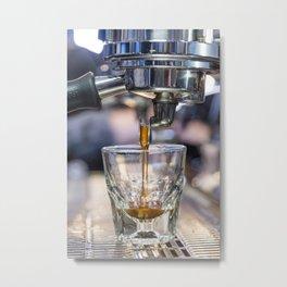 La Marzocco Espresso Shot Metal Print