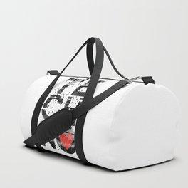 Love Techno Music Duffle Bag