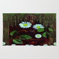 decorative Area & Throw Rugs featuring Gargoyle decorative by Pepita Selles
