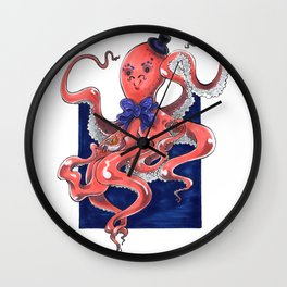 ::Mister Octopus:: Wall Clock