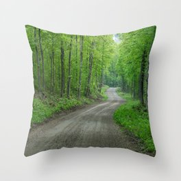 Arcol Road Throw Pillow
