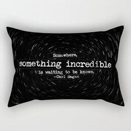 Somewhere... Rectangular Pillow