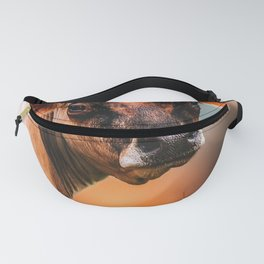 Cow Watching Fanny Pack