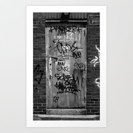 21st and Greengarden Art Print