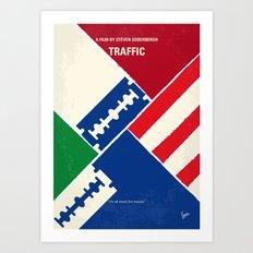No739 My Traffic minimal movie poster Art Print