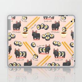 French bulldog maki sushi Laptop & iPad Skin