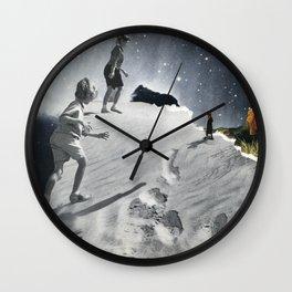 Monster Mud Wall Clock
