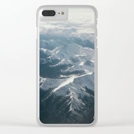 The Rockies Clear iPhone Case
