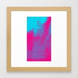 If— BY RUDYARD KIPLING v2 Framed Art Print