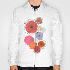 Spiral Flowers Hoody