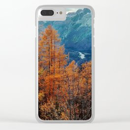 Autumn in Slovenia Clear iPhone Case