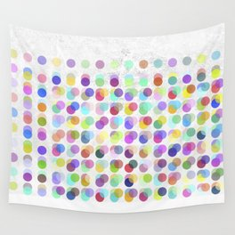 Pastel Dots Wall Tapestry