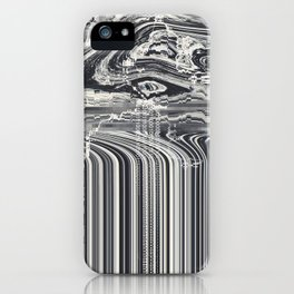 Eye Glitch Art iPhone Case