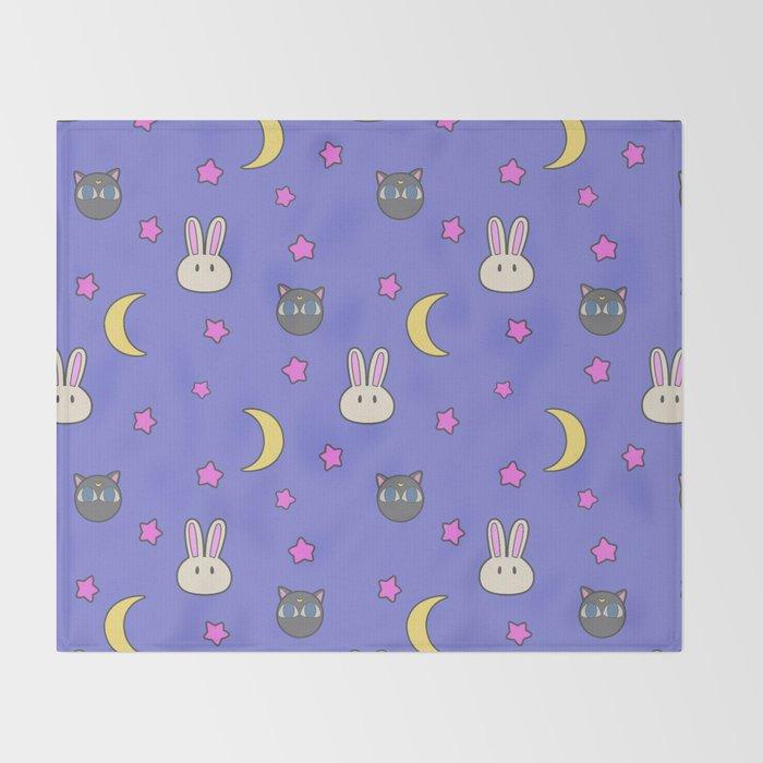 Chibiusa Luna-P Sailor Moon SuperS Blanket Throw Blanket