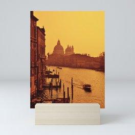Santa Maria Della Salute, Venice Italy. Mini Art Print