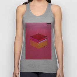 Toast: Facebook Shapes & Statuses Unisex Tank Top