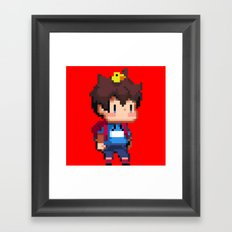 Chick boy Framed Art Print