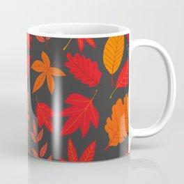 Red autumn leaves Coffee Mug