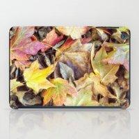 blanket iPad Cases featuring autumn blanket by Bonnie Jakobsen-Martin