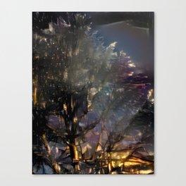 Starry Night Tree Canvas Print