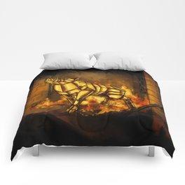 Gullinbursti the Golden Boar Comforters