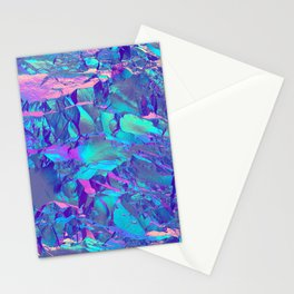 Holographic Artwork No 13 (Crystal) Stationery Cards